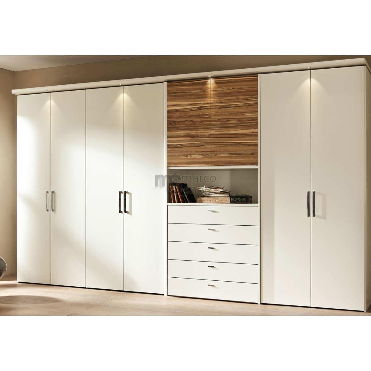 mobilier dressing big white m014 mobila dressing mobila casa. Black Bedroom Furniture Sets. Home Design Ideas